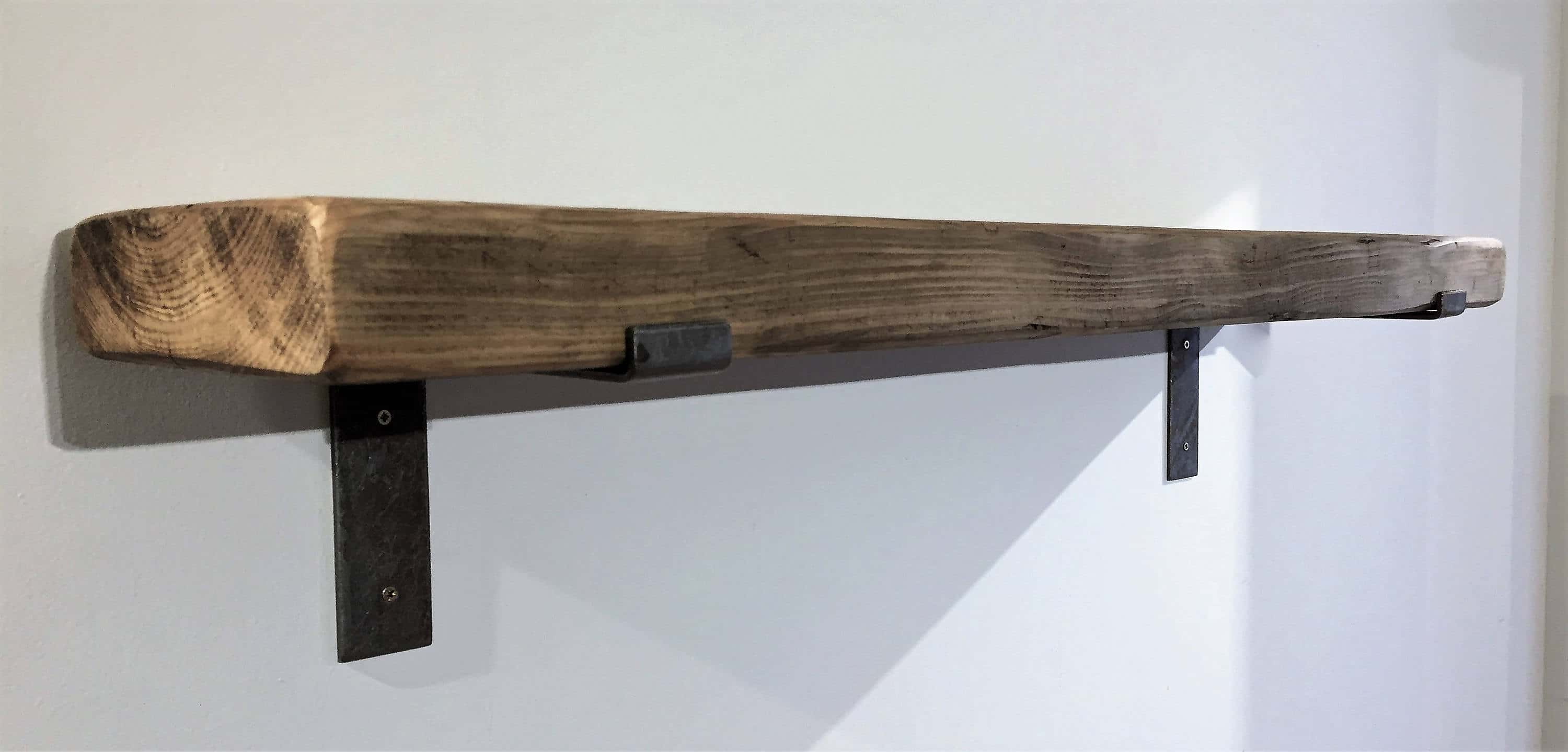 metal pine brackets wooden solid shelves industrial with product shelf x