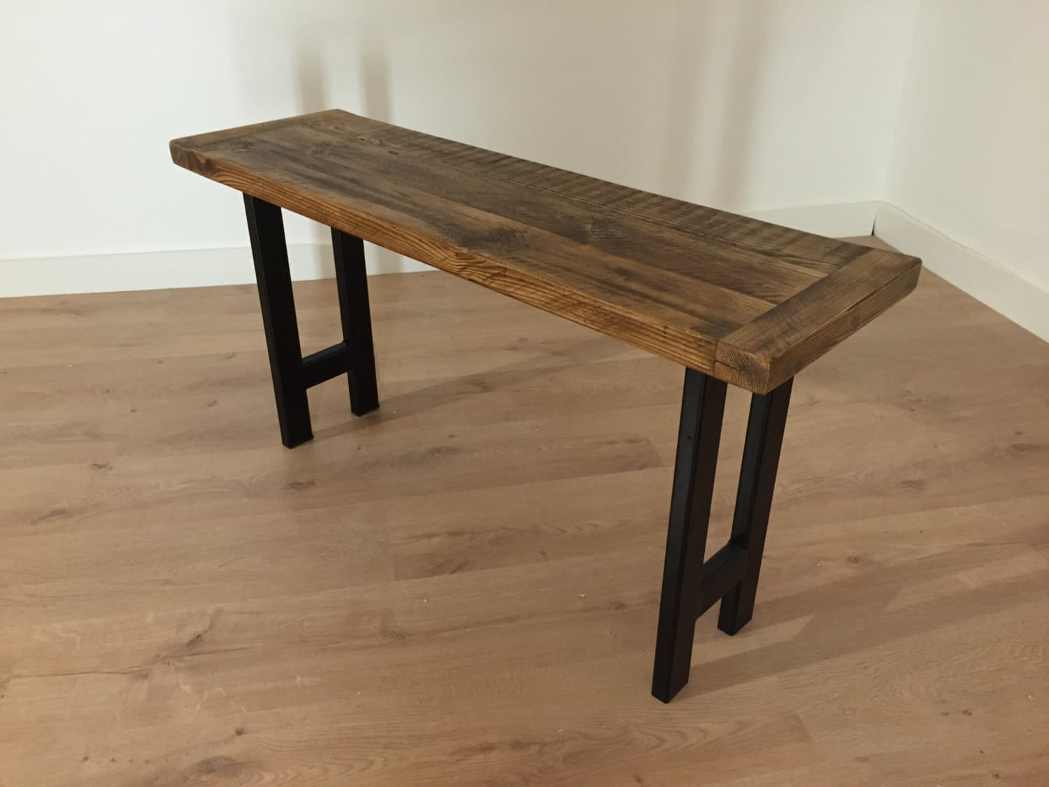 Reclaimed Pine Dining Bench ...