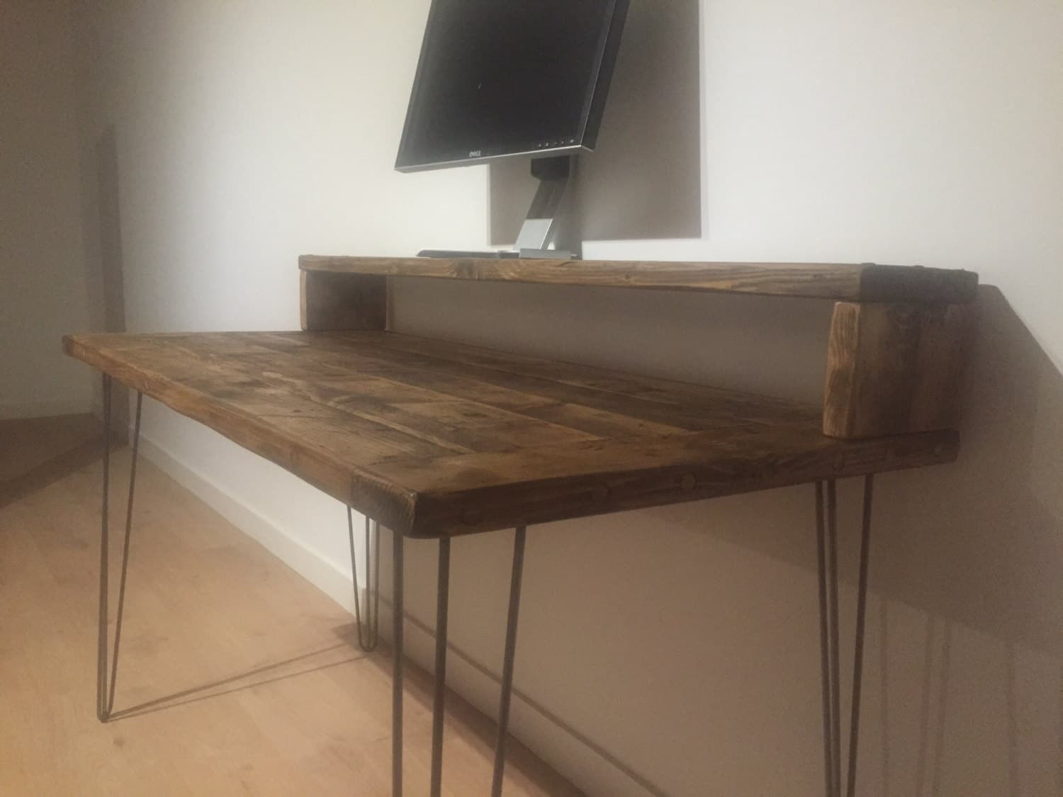 Reclaimed Solid Pine Desk